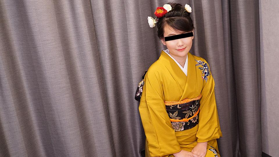 天然素人010120-01晴着美女と生姦中出し姫始め!