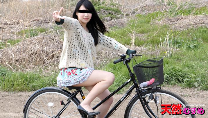 加勒比PPV動畫090216-684自行車座摩擦出好心情 田中非常漂亮的美女里